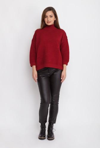pulover-cu-guler-pe-gat-rosu-45-4746-a-3-l